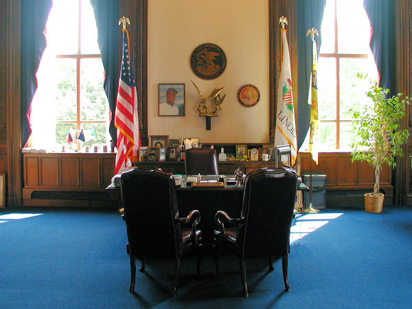 The Secretary Of State 39 S Office In The Illinois Capitol